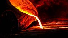 Het verwerken van vloeibaar staal